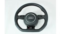 Оригинальный руль Audi S Line со скосом А4, А5, Q5