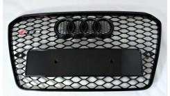 Решетка радиатора в стиле RS A5 B8 рестайлинг