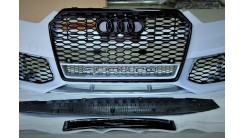 Передний бампер в стиле RS A6 рестайлинг