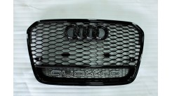 Решетка радиатора в стиле RS A6 C7 дорестайл