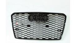 Решетка радиатора в стиле RS A7 дорестайлинг