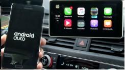 Audi smartphone interface B9